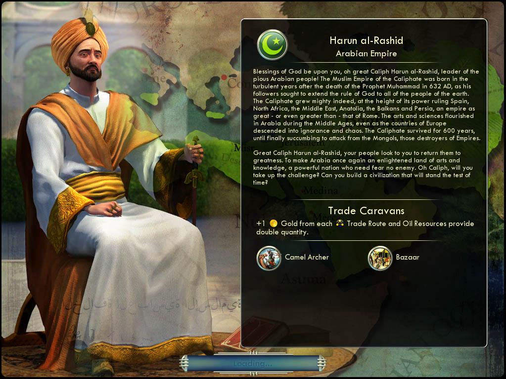 Civilization V Analyst: Civilizations